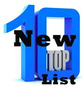 new top ten list