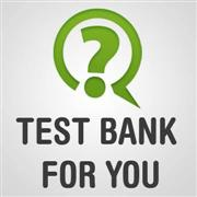Test bank for you