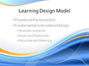 Team1_LearningDesignModel