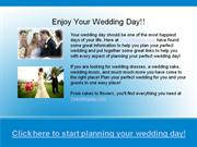 one wedding day - enjoy your wedding day