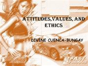 attitudes values and ethics