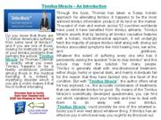 Tinnitus Miracle - Stop ear ringing