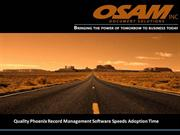 Quality Phoenix Record Management Software