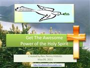 LTLF_The Awesome Power of the Holy Spirit