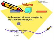 volume and surface area (maths)