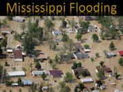 Mississippi River flooding  2011