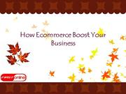 How Ecommerce Boost Your Business