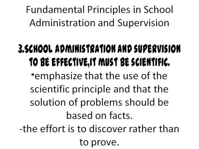 school administration and supervision authorstream