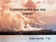 Contaminantes que nos rodean