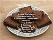 Reciped/Brownies