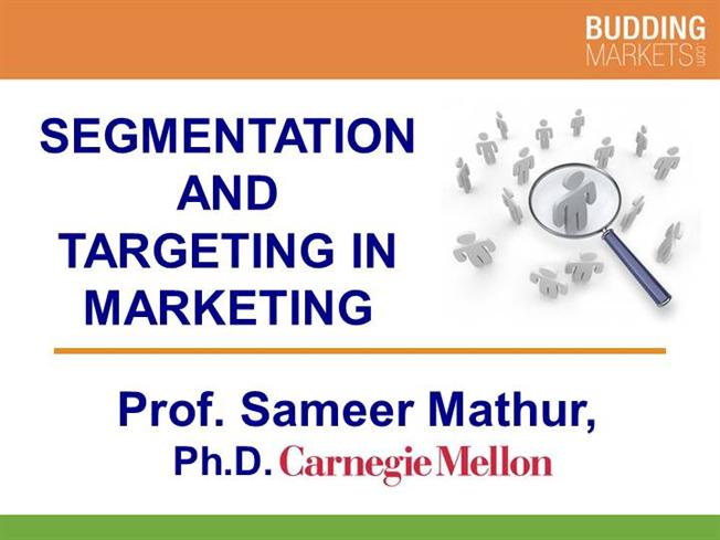 Ppt on targetting segmentation and positioning