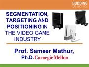 Segmentation and Targeting in the Video Game Console Industry