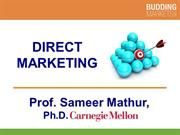 Direct Marketing (Professor Mathur)