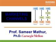 Marketing Channels (Professor Mathur)