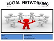 Social  Networking BY RICHA CHAUDHARY
