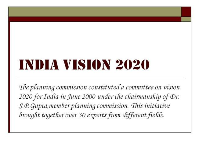 India vision 2020 superpower 2020 youtube.