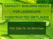 Capacity Building Constructed Wetlands
