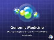 Leslie Waller Genomic Medicine