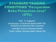 standard conditions (stc) presentation