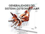 GENERALIDADES DEL SISTEMA OSTEOMUSCULAR