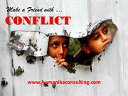 make a friend with conlict