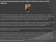 facebook marketing expert reveals highly profitable facebook ads ppc b