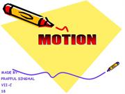 MOTION AND IT TYPES