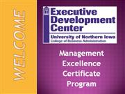 Management Excellence Intro Pwrpt 2011