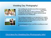 wedding day photographer - wedding photography