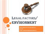 legal factors in international bussiness