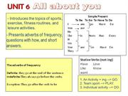tn unit 6 L3U6 All About You - Adverbs of Frequency