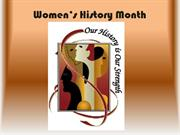 Women�s History Month