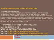 tech homes|8860623220 get dis.14%|tech homes noida