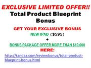 Total Product Blueprint
