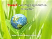 toward learning organization