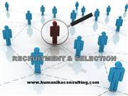 recruitment and selection for hr practices