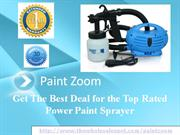 Paint Zoom - The Paint Sprayer That Has Hit the Ball Out of the Park