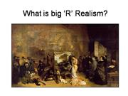 French Context for Realism