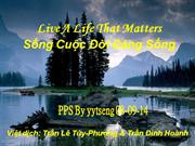song cuoc doi dang song