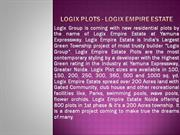 logix plots noida|@8860623211|logix empire estate plots greater noida