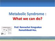 metabolic syndrome and psychiatry