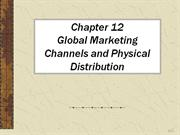 Global Marketing Channels