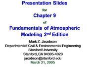 Fundamentals of Atmospheric