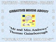 1. Creative Minds about Thomas Gainsborough - Descriptions and paintin