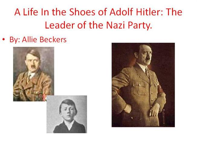 Hitler Ppt |authorSTREAM