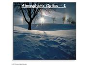 Atmospheric Optics I