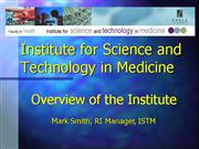 ISTM_Overview_April2007