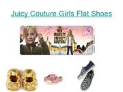 Juicy Couture Girls Flat Shoes