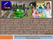 wave city plots[@8860623208wave city plots noida yamuna expressway