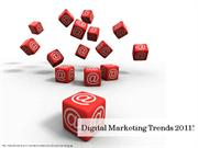Digital Marketing Trends 2011!